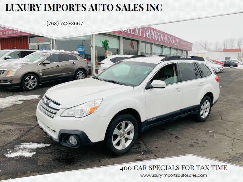 2014 Subaru Outback for sale at LUXURY IMPORTS AUTO SALES INC in North Branch MN