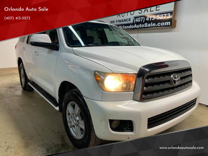2008 Toyota Sequoia for sale at Orlando Auto Sale in Orlando FL