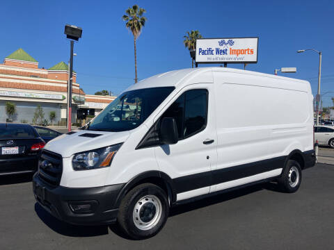 2020 Ford Transit Cargo for sale at Pacific West Imports in Los Angeles CA