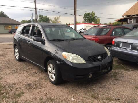 2003 Toyota Matrix for sale at Fast Vintage in Wheat Ridge CO
