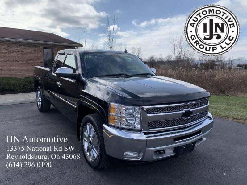 2013 Chevrolet Silverado 1500 for sale at IJN Automotive Group LLC in Reynoldsburg OH