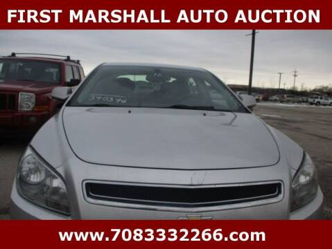 2012 Chevrolet Malibu for sale at First Marshall Auto Auction in Harvey IL