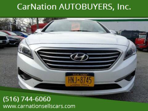 2016 Hyundai Sonata for sale at CarNation AUTOBUYERS, Inc. in Rockville Centre NY