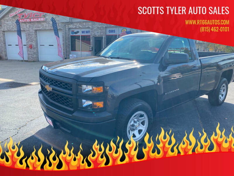 2015 Chevrolet Silverado 1500 for sale at Scotts Tyler Auto Sales in Wilmington IL