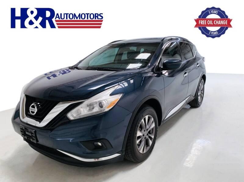 2017 Nissan Murano for sale at H&R Auto Motors in San Antonio TX