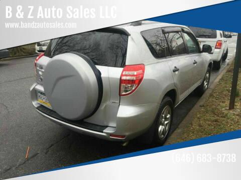 2010 Toyota RAV4 for sale at B & Z Auto Sales LLC in Delran NJ