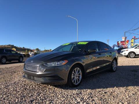 2017 Ford Fusion Hybrid for sale at 1st Quality Motors LLC in Gallup NM