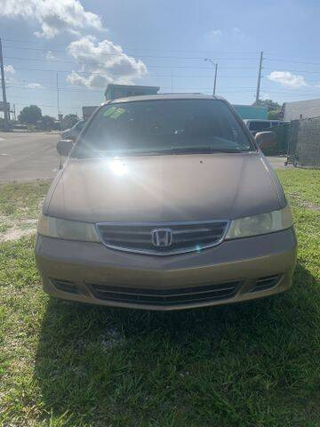 2003 Honda Odyssey for sale at POWERLINE AUTO CENTER in Fort Lauderdale FL