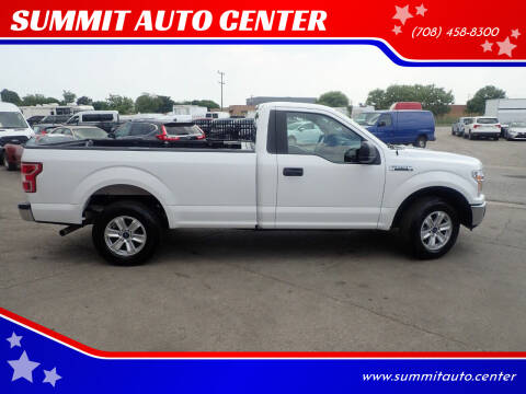 2019 Ford F-150 for sale at SUMMIT AUTO CENTER in Summit IL