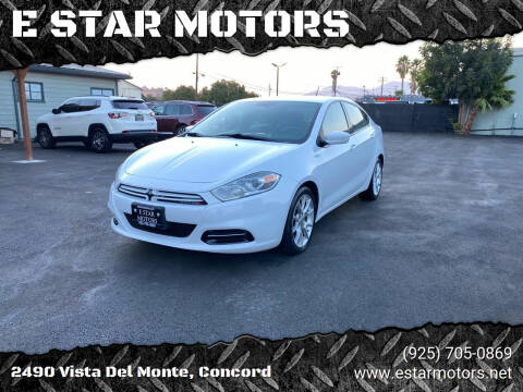 2013 Dodge Dart for sale at E STAR MOTORS in Concord CA
