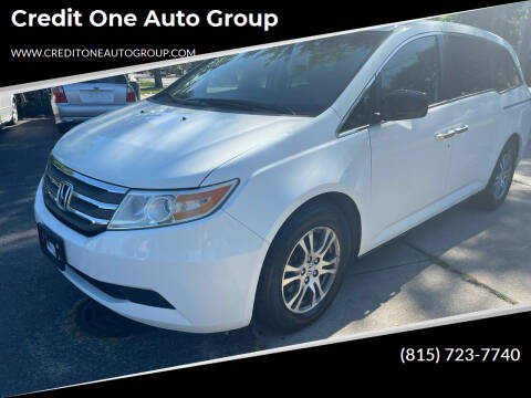 2011 Honda Odyssey for sale at Credit One Auto Group in Joliet IL