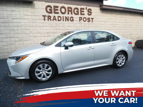 2020 Toyota Corolla for sale at GEORGE'S TRADING POST in Scottdale PA