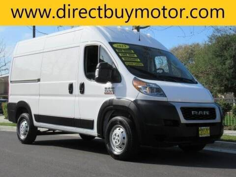 2019 RAM ProMaster Cargo for sale at Direct Buy Motor in San Jose CA