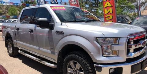 2015 Ford F-150 for sale at Duke City Auto LLC in Gallup NM