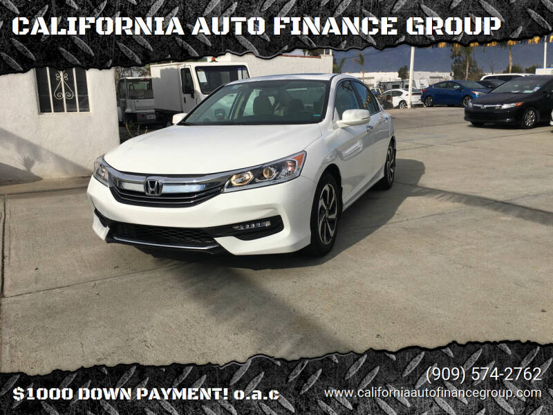 2016 Honda Accord for sale at CALIFORNIA AUTO FINANCE GROUP in Fontana CA