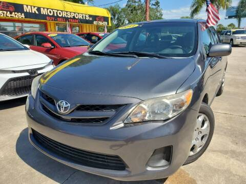 2011 Toyota Corolla for sale at MK Motorsports LLC. in Orlando FL