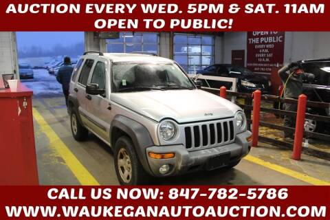 2004 Jeep Liberty for sale at Waukegan Auto Auction in Waukegan IL