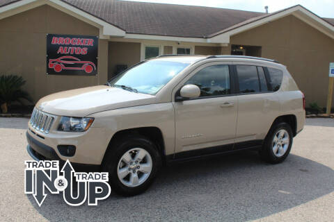 2017 Jeep Compass for sale at Brocker Autos in Humble TX