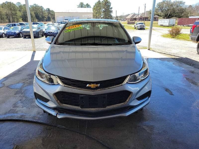 2017 Chevrolet Cruze for sale at Auto Guarantee, LLC in Eunice LA