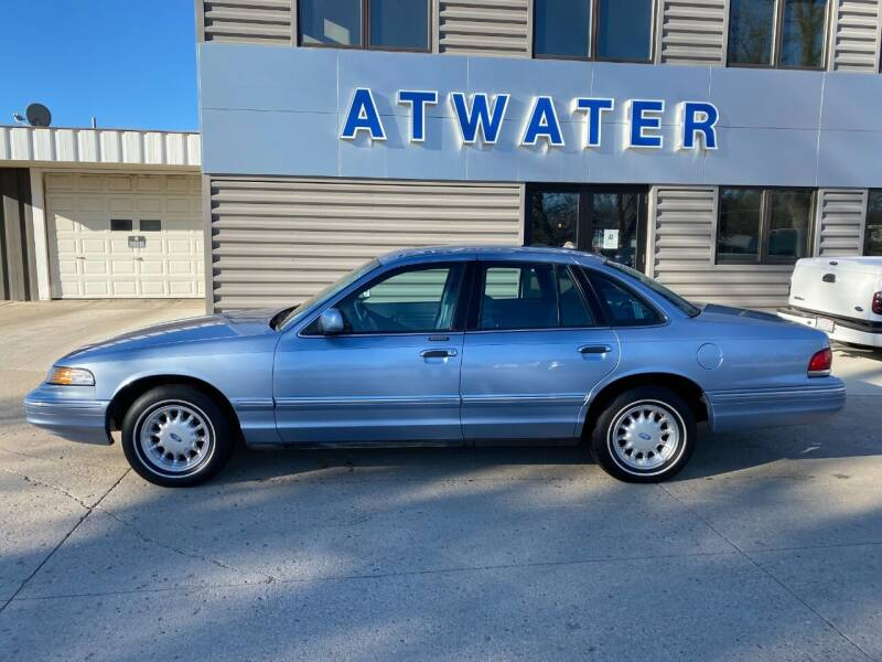 1997 Ford Crown Victoria for sale at Atwater Ford Inc in Atwater MN