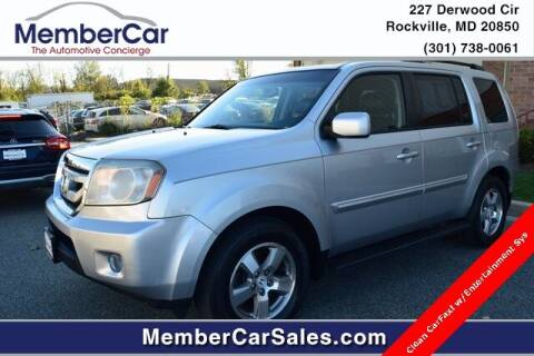 2010 Honda Pilot for sale at MemberCar in Rockville MD