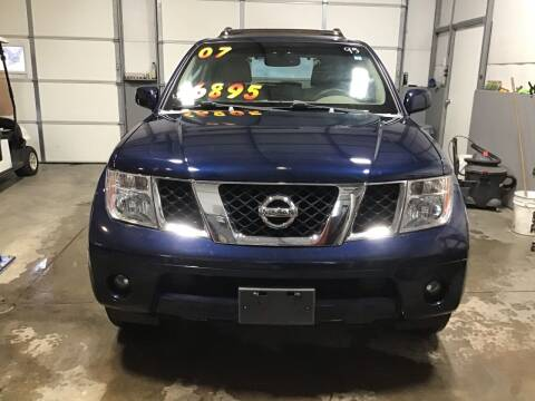 2007 Nissan Pathfinder for sale at K & E Auto Sales in Ardmore AL