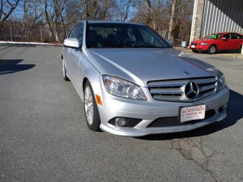 2009 Mercedes-Benz C-Class for sale at Gia Auto Sales in East Wareham MA