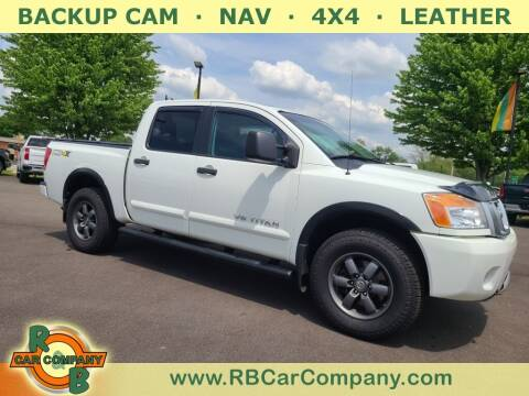 2015 Nissan Titan for sale at R & B Car Company in South Bend IN