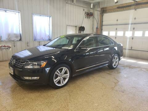 2013 Volkswagen Passat for sale at Sand's Auto Sales in Cambridge MN