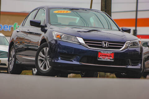 2014 Honda Accord for sale at Dina Auto Sales in Paterson NJ