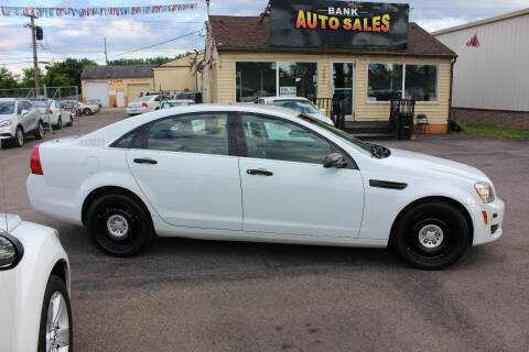 2013 Chevrolet Caprice for sale at BANK AUTO SALES in Wayne MI