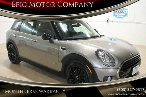 2017 MINI Clubman for sale at Epic Motor Company in Chantilly VA