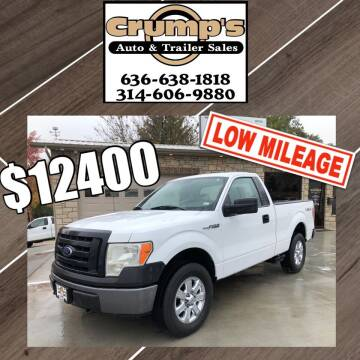 2010 Ford F-150 for sale at CRUMP'S AUTO & TRAILER SALES in Crystal City MO