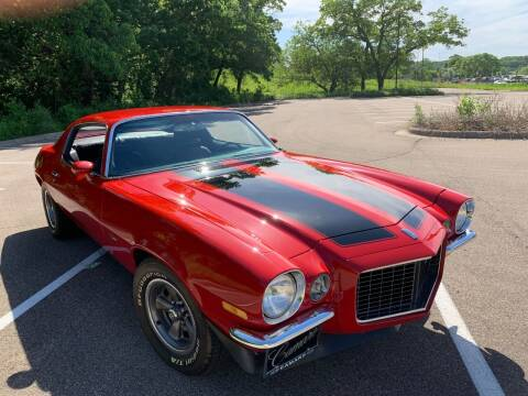 1970 Chevrolet Camaro for sale at SYNERGY MOTOR CAR CO in Maplewood MN