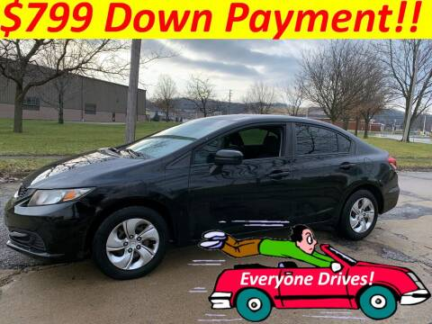 2014 Honda Civic for sale at World Automotive in Euclid OH