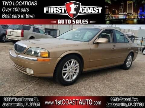 2005 Lincoln LS for sale at 1st Coast Auto -Cassat Avenue in Jacksonville FL