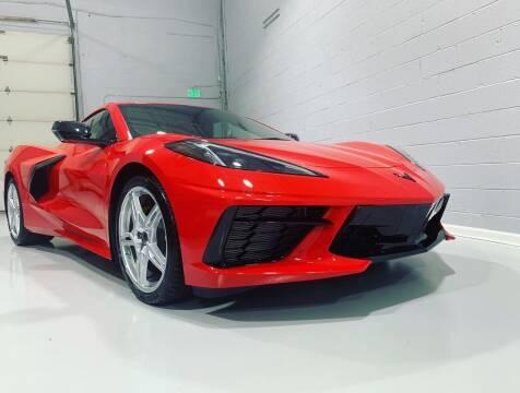 2020 Chevrolet Corvette for sale at POTOMAC WEST MOTORS in Springfield VA