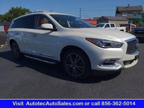 2018 Infiniti QX60 for sale at Autotec Auto Sales in Vineland NJ