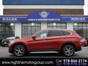 2018 BMW X1 for sale at Highline Group Motorsports in Lowell MA