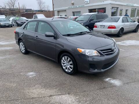 2013 Toyota Corolla for sale at Fairview Motors in West Allis WI