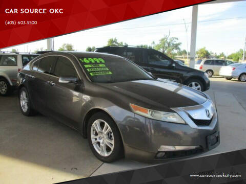 2010 Acura TL for sale at Car One in Warr Acres OK