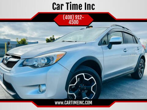 2014 Subaru XV Crosstrek for sale at Car Time Inc in San Jose CA