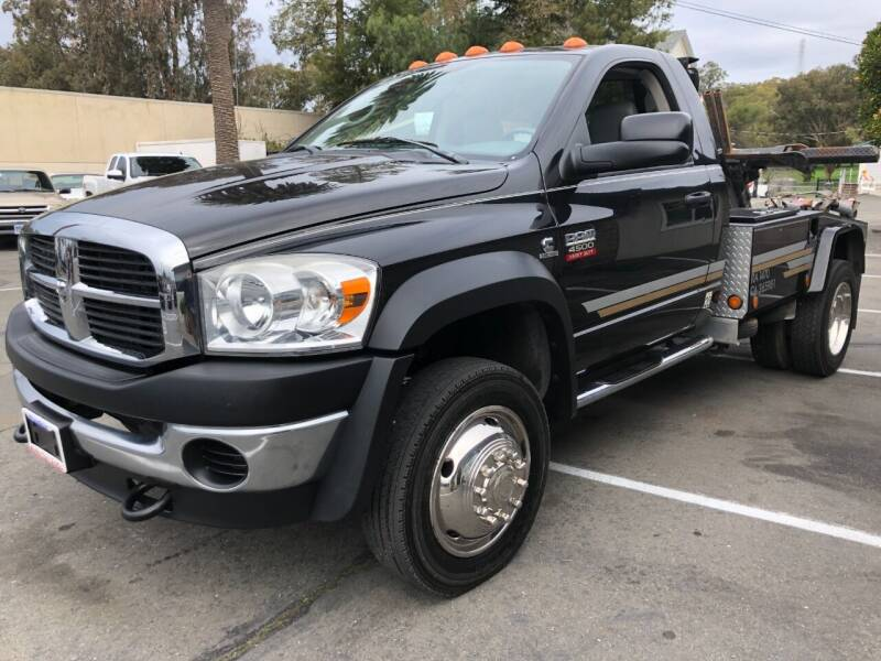 2009 Dodge Ram Chassis 4500 for sale at Martinez Truck and Auto Sales in Martinez CA
