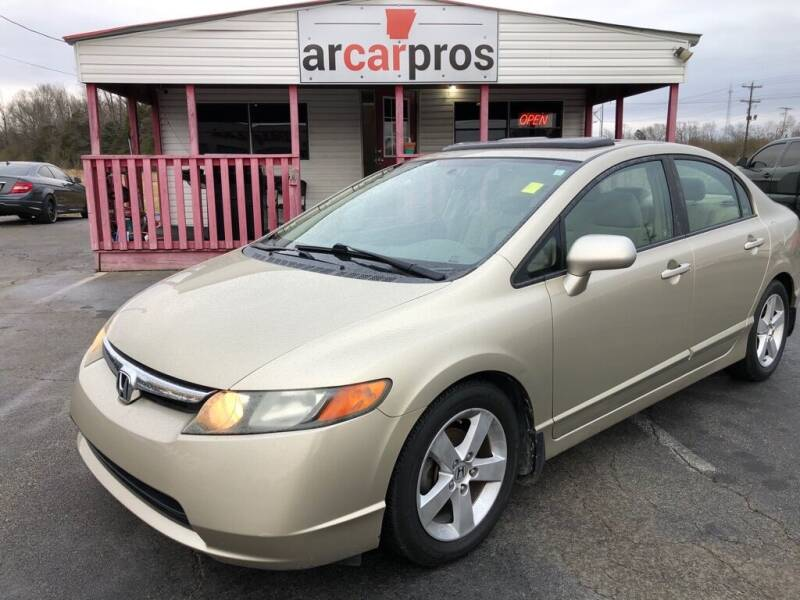 2008 Honda Civic for sale at Arkansas Car Pros in Cabot AR