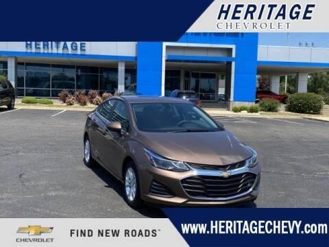 2019 Chevrolet Cruze for sale at HERITAGE CHEVROLET INC in Creek MI