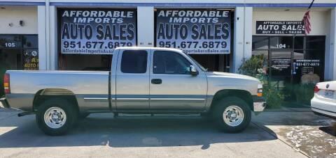 2000 Chevrolet Silverado 1500 for sale at Affordable Imports Auto Sales in Murrieta CA