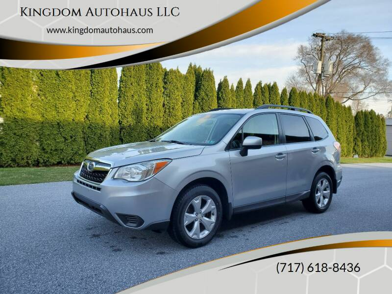 2014 Subaru Forester for sale at Kingdom Autohaus LLC in Landisville PA