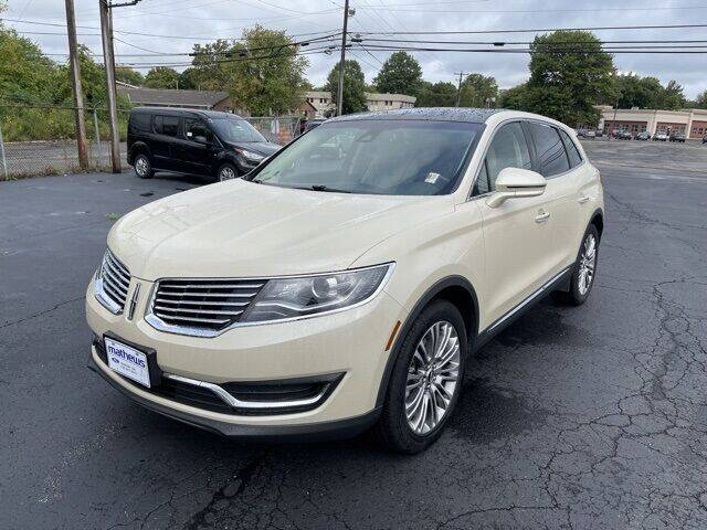 2018 Lincoln MKX for sale in Marion, OH