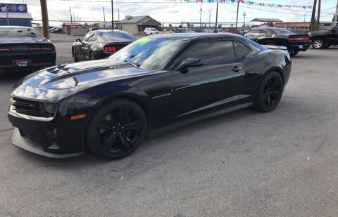 2013 Chevrolet Camaro for sale at First Choice Auto Sales in Bakersfield CA