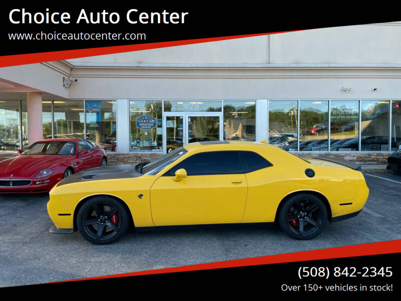 2017 Dodge Challenger for sale at Choice Auto Center in Shrewsbury MA